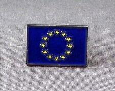 Metal Enamel Pin Badge Brooch Flag EU European Union EEC National Flag