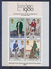 *GB London 1980 International Stamp Exhibition second Miniature Sheet MNH.