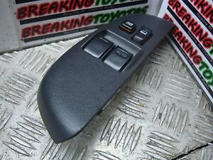 TOYOTA YARIS VERSO 2004 2005 2 WAY O/S DRIVER MASTER WINDOW SWITCH 84820-52160