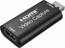 Capture Card HDMI to USB 2.0 Full HD High Definition 1080p 30fps Game Video
