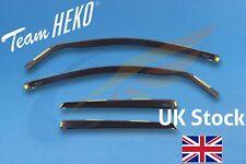 AUDI A4 B8 Avant Estate 5-doors 2009-2015 4-pc Wind Deflectors HEKO Tinted