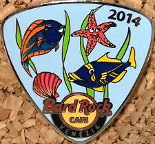 """Hard Rock Cafe VENICE 2014 GUITAR PICK Series PIN """"FISH"""" - HRC Catalog #78828"""