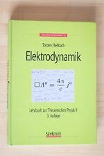 Elektrodynamik, Fließbach, Lehrbuch zur Theoretischen Physik II, 3. Auflage