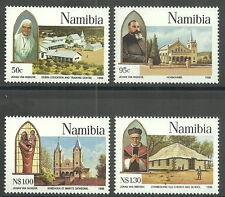 Namibia - 100 Jahre katholische Mission Satz postfrisch 1996 Mi.Nr. 808-811