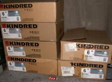 "Nib Kindred Stainless Steel Undermount Sink Uv1422/60L/E 6"" Bar Bathroom"