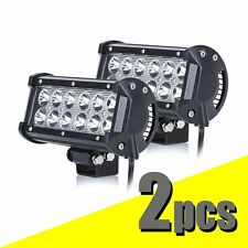 "2Pcs 7"" 36W Cree Led Work Light Bar Spot Beam Offroad Driving for SUV Boat Truck"