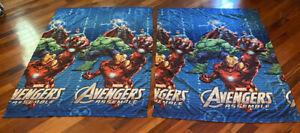 "Marvel Avengers Assemble Pair of Curtain Panels 42"" x 63"" Jay Franco & Sons"
