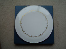 Royal Worcester 'Chantilly Gold' Cake Plate/Cheese Platter - MIB