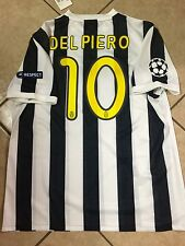 Italy Juventus Del piero Player Issue Football Soccer Jersey Nike Shirt  Unique