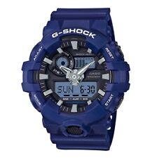 Casio G-Shock *GA700-2A Front Button Anadigi Blue Resin for Men COD PayPal