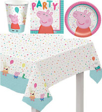 Peppa Pig Confetti Party Tableware Set ~ Peppa Pig Confetti Party Set