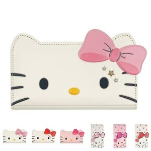 HELLO KITTY Diary Wallet Flip Cover for iPhone 13 12 11 Pro Max mini XS XR Case