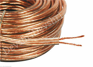 Thick Oxygen Free Copper Speaker Wire Cable High Quality 20m 50m 100m Meter