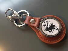 Springfield Armory Guns/Firearms Real Leather Key rings