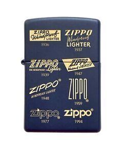 Collectable ZIPPO Logos Lighter New!