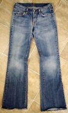7 For All Mankind Jeans Distressed Flare Women's Size 25 EUC