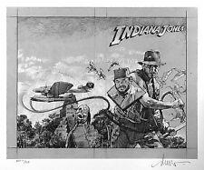 Drew Struzan Indiana Jones: Philosopher's Stone Signed Giclee Artist Print AP