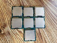 New listing Lot Of 7 Intel Core i5, Core i7 Processor