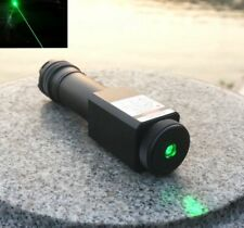 Waterproof Focusable Super Powerful 515nm 520nm Green Laser Pointer LED Torch