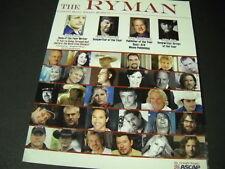 RYMAN 2007 Promo Award JOHN RICH Kenny Chesney KRISTEN HALL Tom Cochrane others
