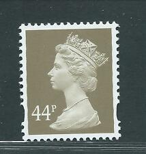 Gb unused Sg y1719 (y1713),Scott Mh270 44p grey brown elliptical Mnh