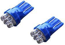 2 X SOSTITUZIONE T10 W5W QUAD LED 12V BLU GHIACCIO LAMPADINE