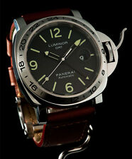 BRAND NEW NEVER WORN AWESOME LOOKING VERY LIMITED PANERAI PAM 29M GMT WATCH