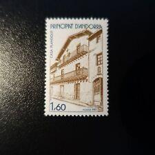 ANDORRE FRANÇAIS N°326 ARCHITECTURE ANDORRANE NEUF ** MNH