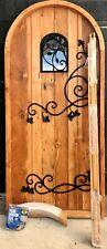 New listing Rustic reclaimed solid Doug Fir door window U choose dimension storybook