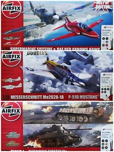 Airfix 1/72 Gift Set Includes Paint Brushes & Poly Cement New Plastic Model Kit