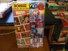 Size 6 Marvel Little Girls Bonus 8-pk. Superhero Panties NEW IN PACKAGE !!