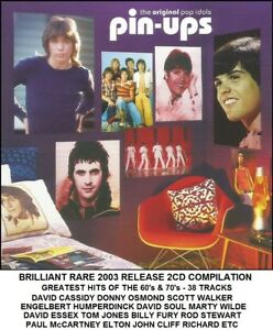 Best Greatest Hits 60's 70's 2CD David Soul Cassidy Donny Tom Leif Rod Rollers