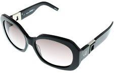 Gianfranco Ferre Sunglasses Women Black Rose Rectangular Swarovski GF886 01
