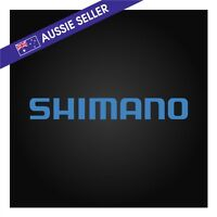 Shimano Sticker Decal Blue 200mm suit Fishing Family Boat Tinny Outboard Tackle