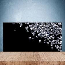 Kitchen Splashback 120x60 Tempered Glass Dandelions Floral