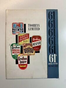 Tooheys Limited Annual Report 1961