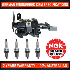 4x NGK Spark Plugs w/ Swan Ignition Coil Pack for Hyundai Tucson JN