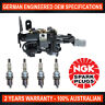 4x Genuine NGK Spark Plugs & 1x Ignition Coils for Hyundai Tucson JN