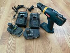 Ryobi cordless drill 18v, with carry bag, 2 batteries and two chargers