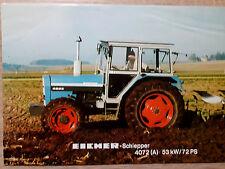 Original Eicher Prospekt Traktor 4072 (A)
