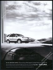 2006 Acura MDX silver SUV photo big vintage print ad