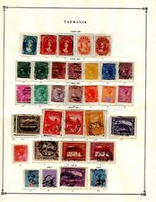 New ListingTasmania Collection from Huge Scott Intern Album - 1840-1940