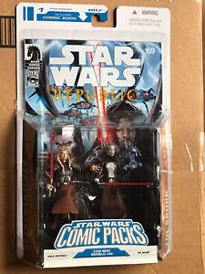Star Wars Comic Two Pack #1 Republic Issue, 69. W/ Asajj Ventress & Tol Skorr.