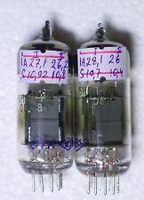 NEW MILITARY TESTED PAIR 6N6P-IR ~ ECC99  E182CC  6N30P Double Triode GOLD GRID