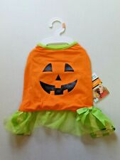 Martha Stewart PETS Fashion Dog Apparel Size M Cute Pumpkin Costume NEW