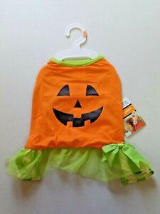 Martha Stewart PETS Fashion Dog Apparel Size M Cute Pumpkin Costume NEW