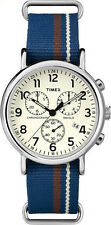 Timex Analog Casual Weekender Chronograph Multicolored Mens TW2P62400