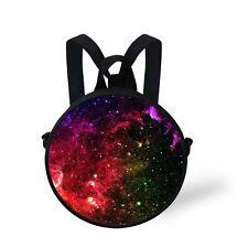 Mini Galaxy Space Messenger Sling Bag School Backpack Rucksack Kindergarten Kids