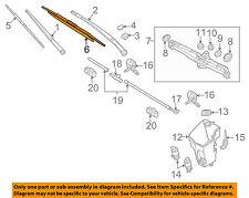 BMW OEM 04-10 X3 Wiper Arm-Front Blade 61610443590