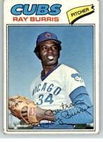 1977 Topps #190 Ray Burris M1C419